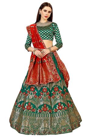 Best Lehenga Choli Banarasi Silk In India 2020