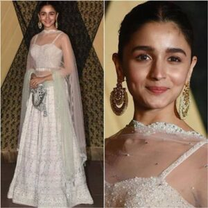 Best Alia Bhatt Silver Lehenga Buy Online In India 2020